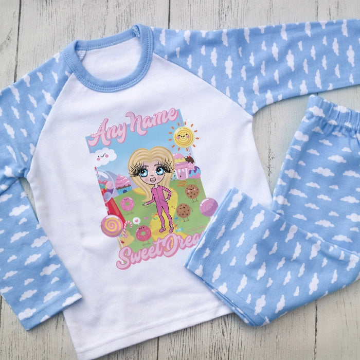 ClaireaBella Girls Dream Of Sweets Pyjamas - Image 1