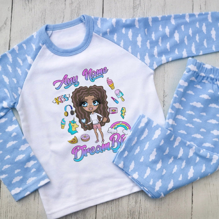 ClaireaBella Girls Dream Big Pyjamas - Image 1