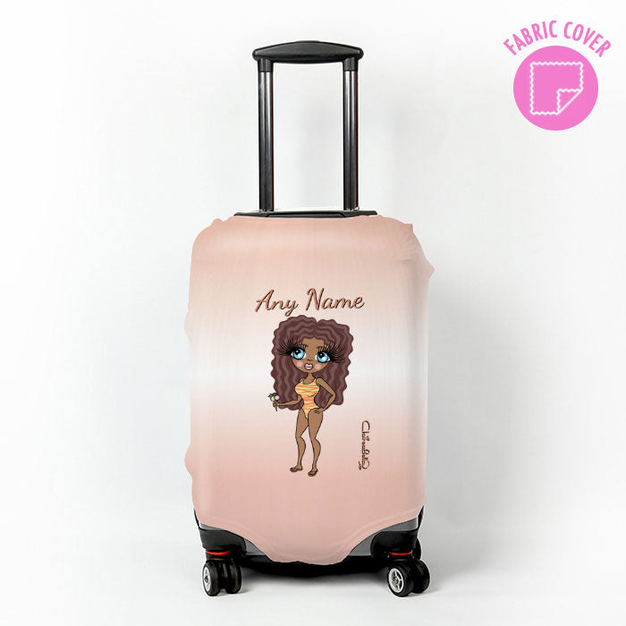 ClaireaBella Blush Suitcase Cover
