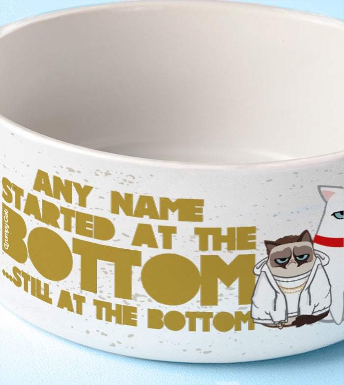 Grumpy Cat At The Bottom Dog Bowl - Image 2