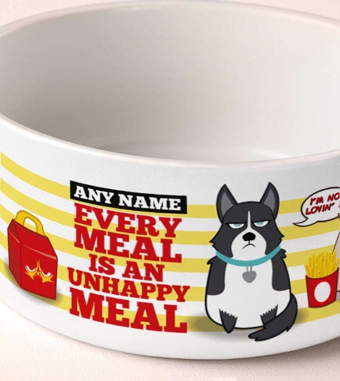 Grumpy Cat Unhappy Meal Dog Bowl - Image 3