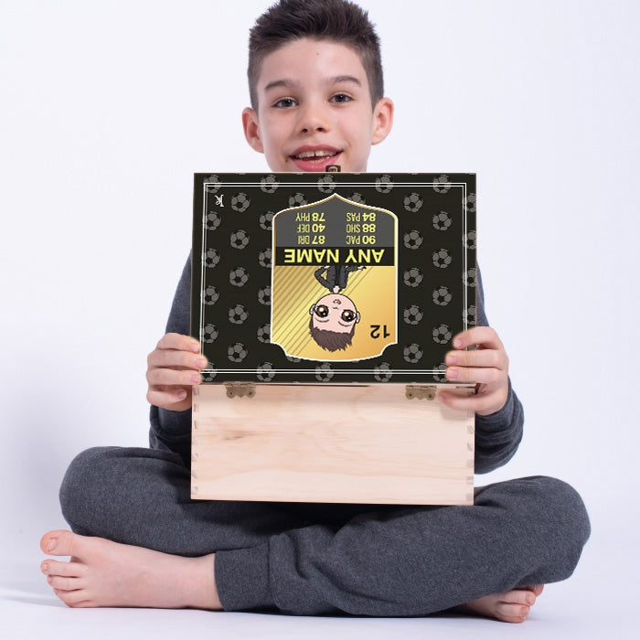 Jnr Boys Football Mad Memory Box - Image 1