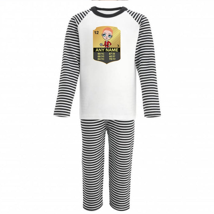 Jnr Boys Football Mad Pyjamas - Image 1
