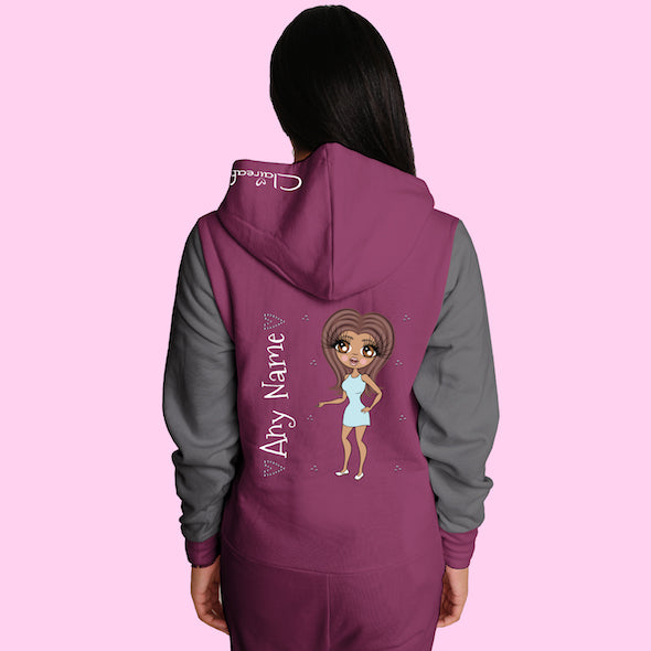 ClaireaBella Adult Contrast Onesie - Image 6