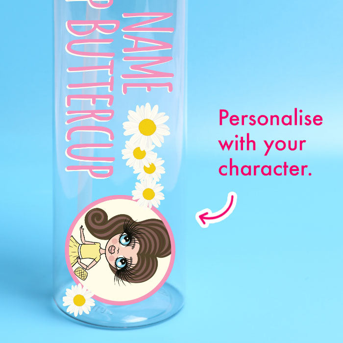 ClaireaBella Girls Buttercup Water Bottle