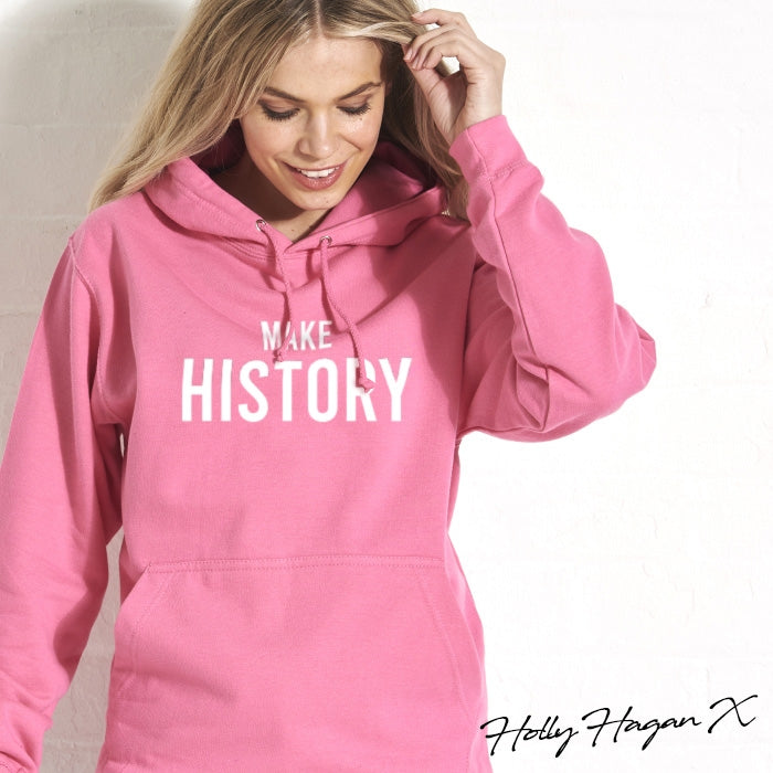 Holly Hagan X Make History Hoodie - Image 4