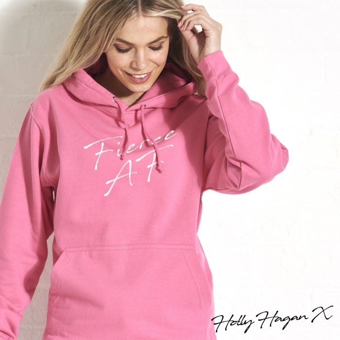 Holly Hagan X Fierce A.F Hoodie - Image 4