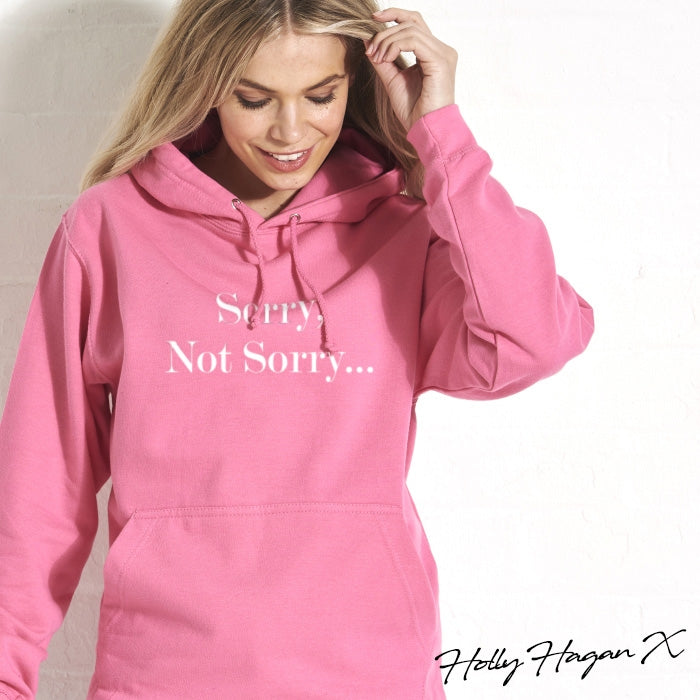 Holly Hagan X Not Sorry Hoodie - Image 5