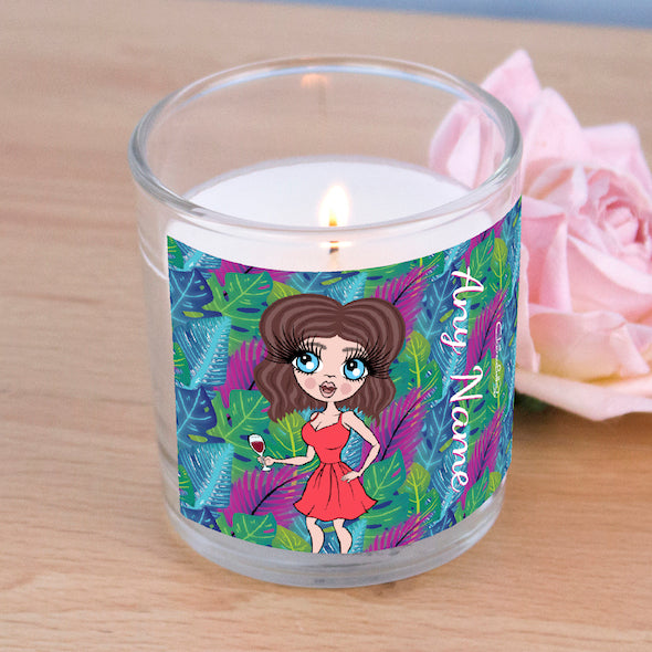 ClaireaBella Neon Leaf Scented Candle - Image 5
