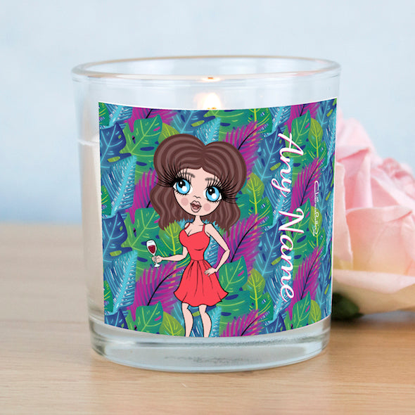 ClaireaBella Neon Leaf Scented Candle - Image 6