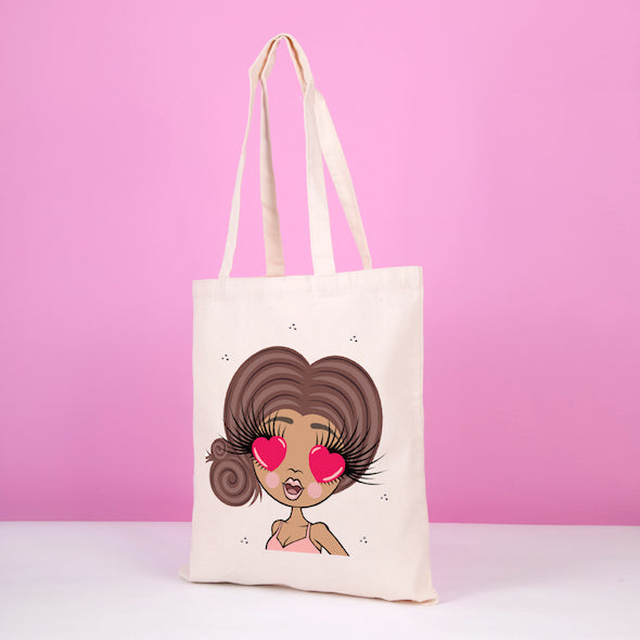 ClaireaBella Emoji Canvas Bag - Image 2
