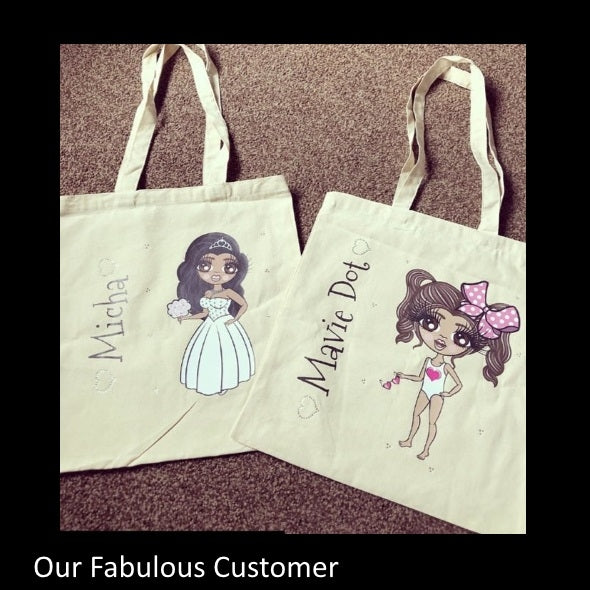 ClaireaBella Girls Canvas Bag - Image 7