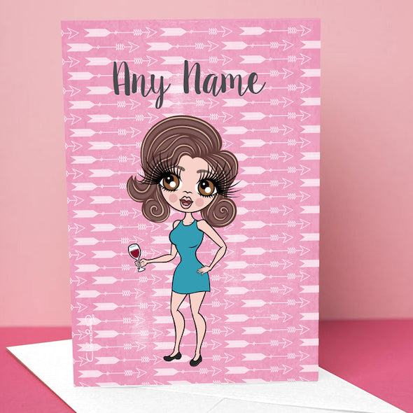 ClaireaBella Cupid's Arrow Greetings Card - Image 1