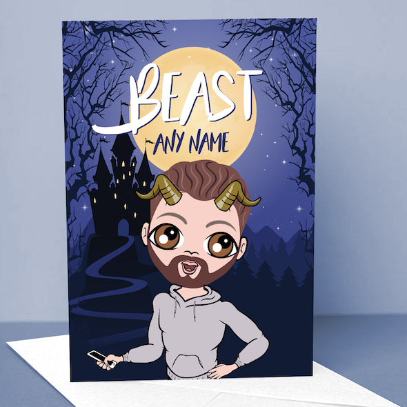 MrCB The Beast Greetings Card - Image 1