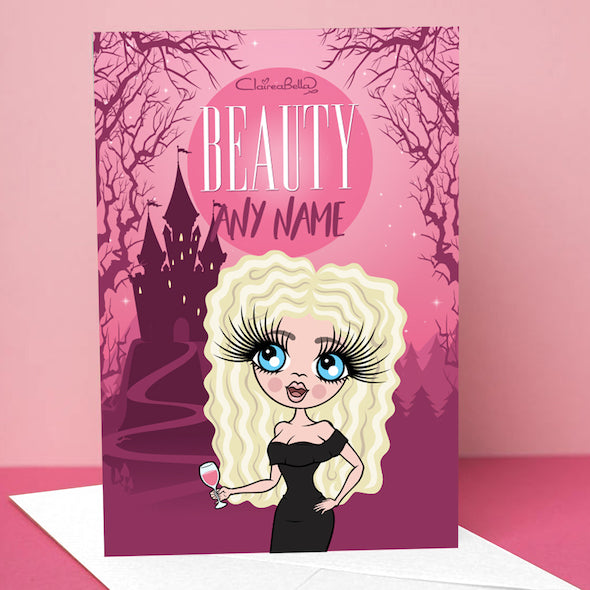 ClaireaBella The Beauty Greetings Card - Image 1