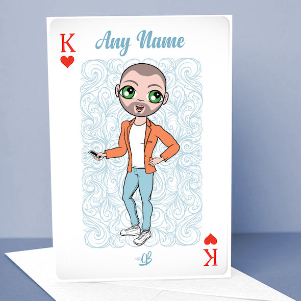 MrCB King Of Hearts Greetings Card - Image 1