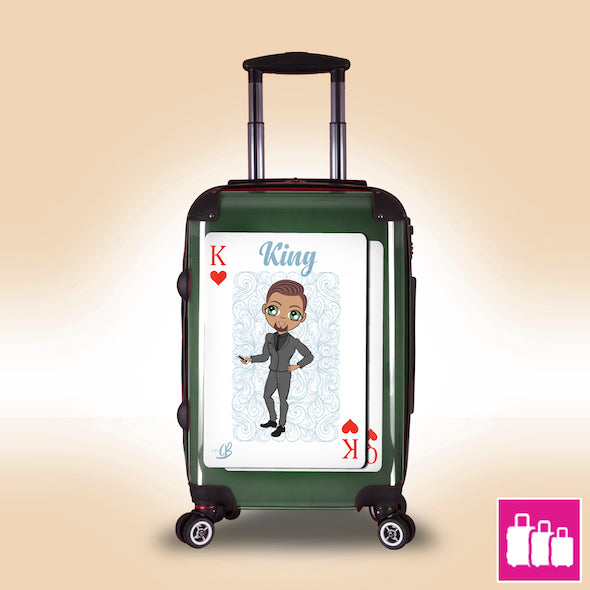 MrCB King of Hearts Suitcase - Image 1