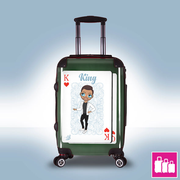MrCB King of Hearts Suitcase - Image 2