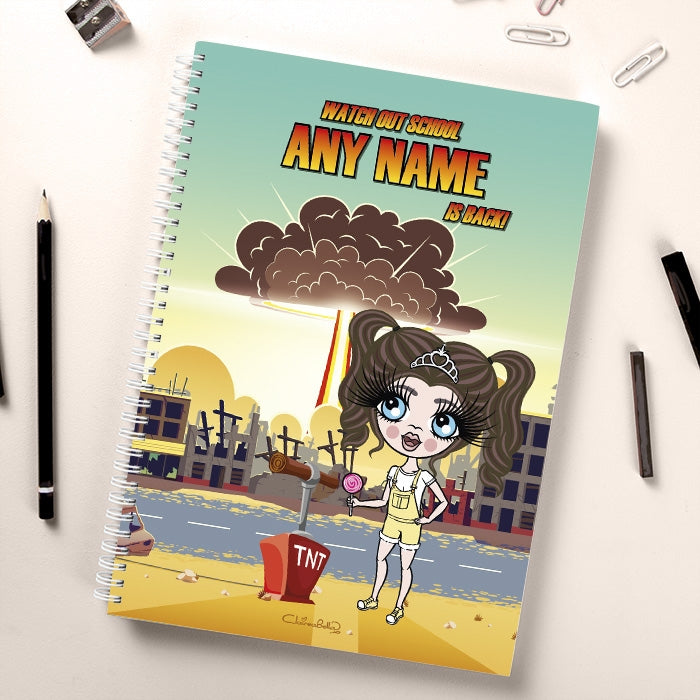 ClaireaBella Girls I'm Back Notebook - Image 1