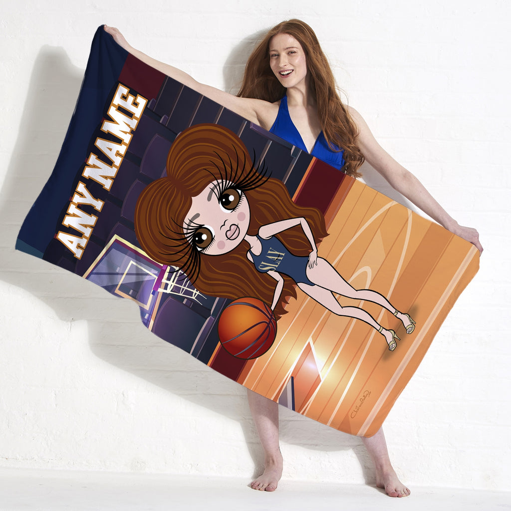 ClaireaBella Basketball Beach Towel - Image 2