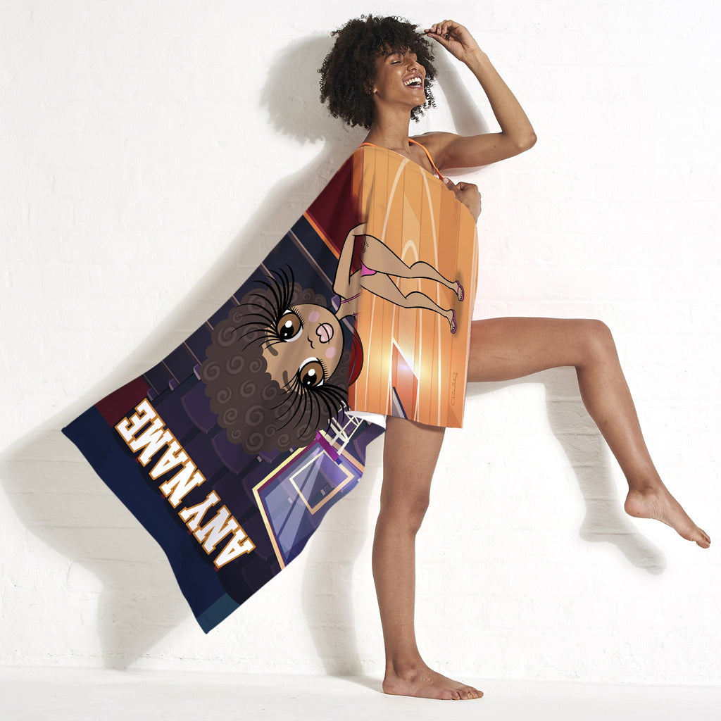 ClaireaBella Basketball Beach Towel - Image 5