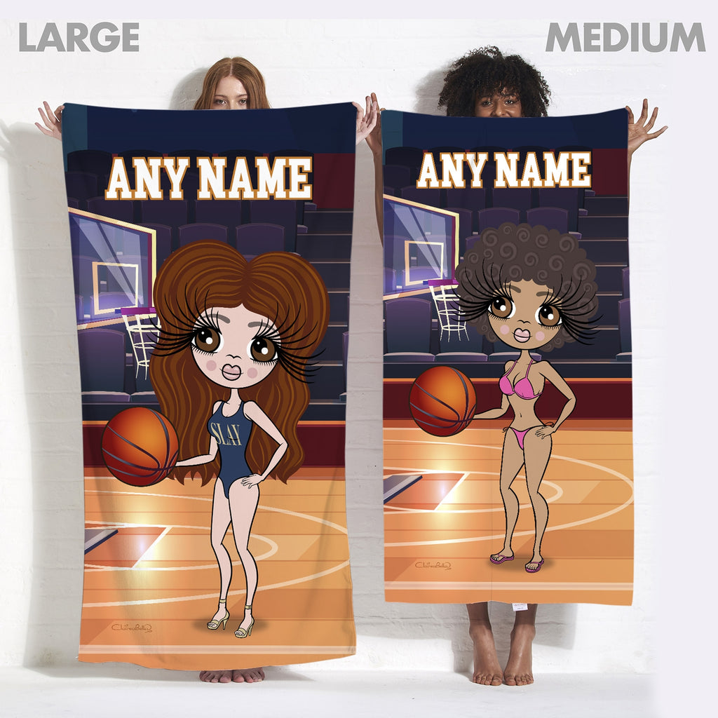 ClaireaBella Basketball Beach Towel - Image 7