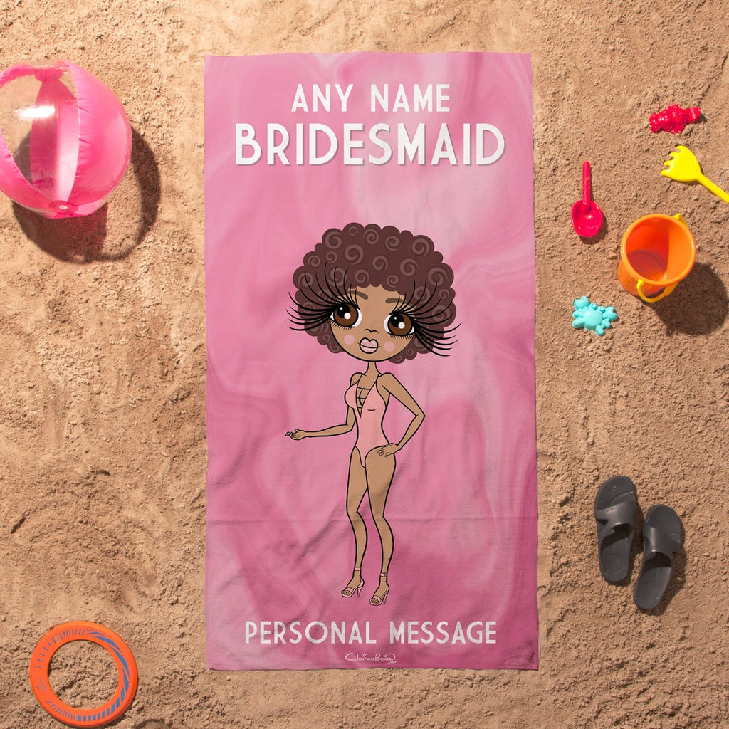 ClaireaBella Bridesmaid Beach Towel - Image 2