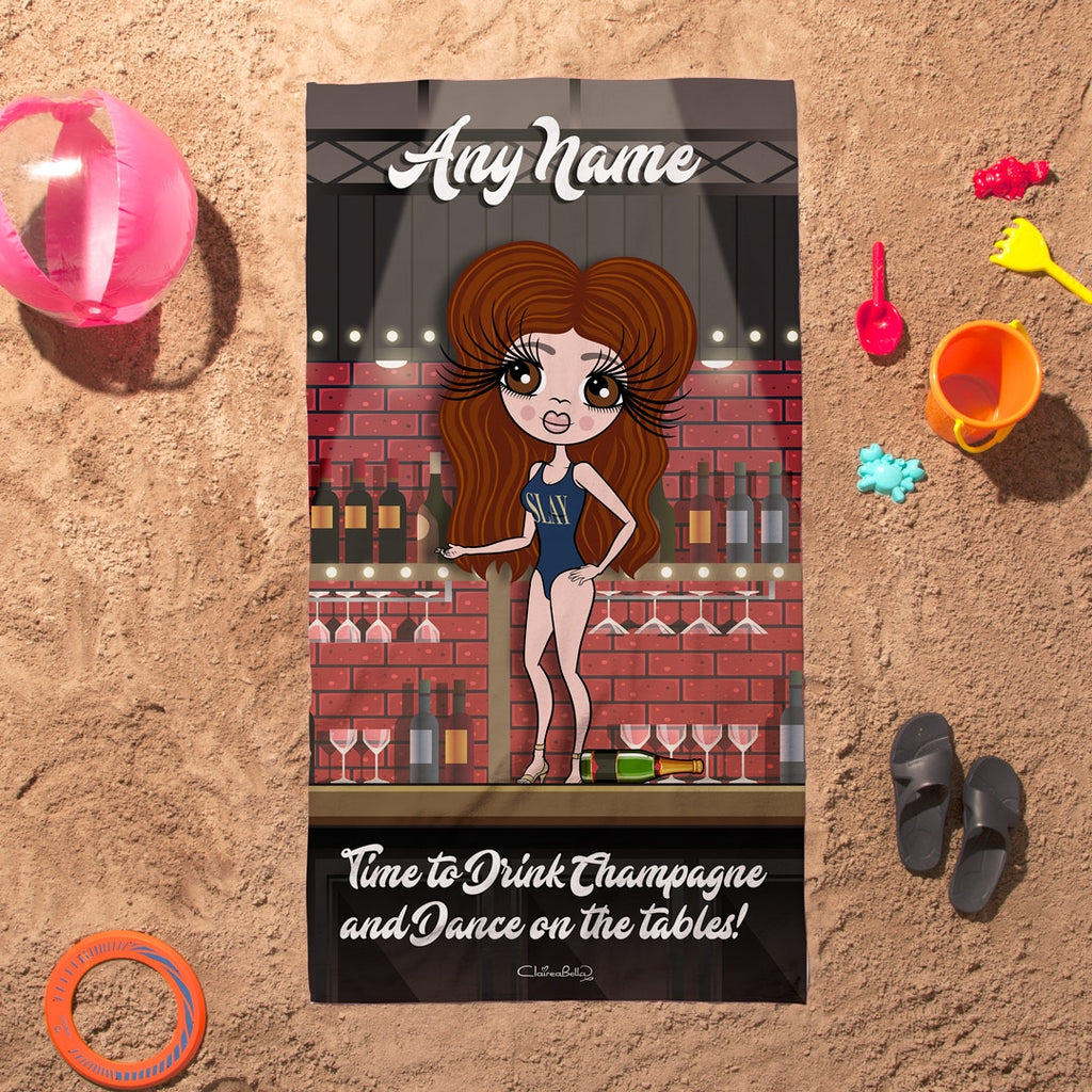 ClaireaBella Dance On Tables Beach Towel - Image 3