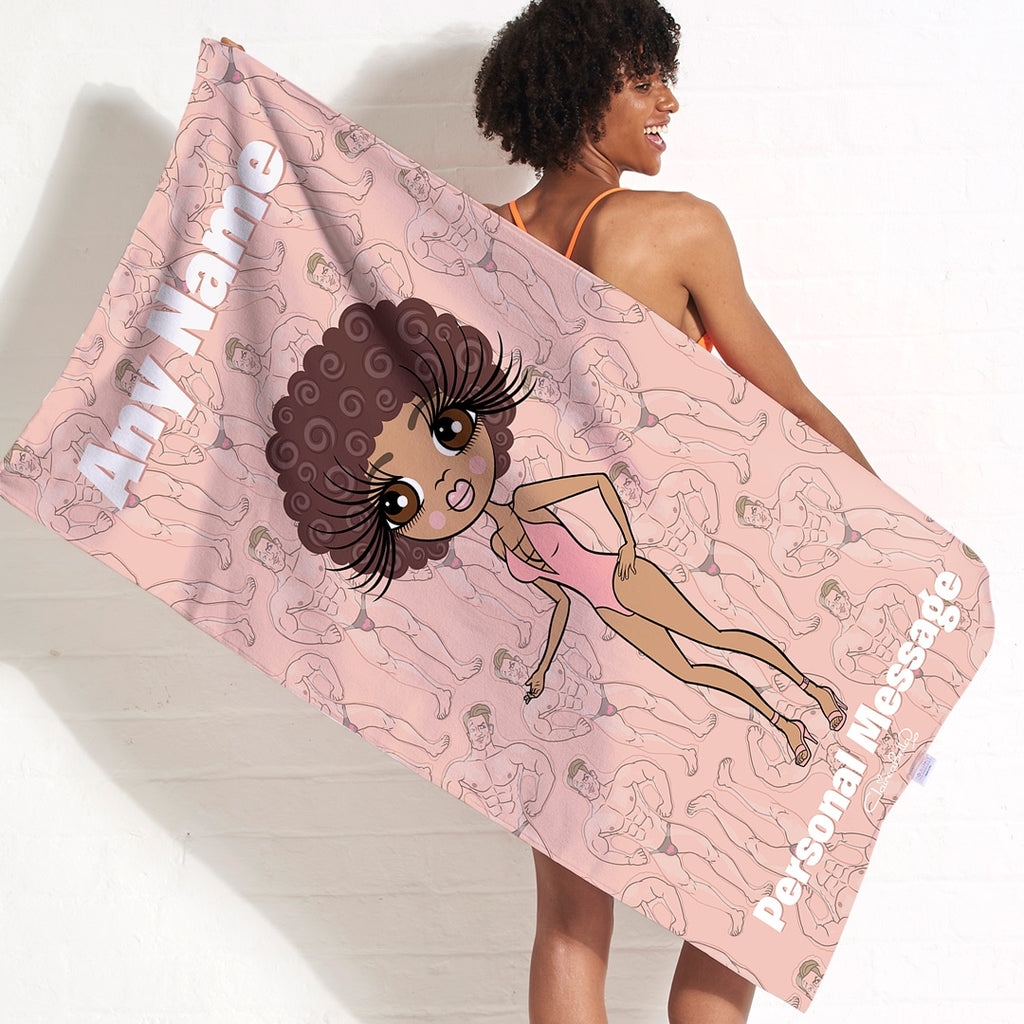 ClaireaBella Inflatable Hunks Beach Towel - Image 1