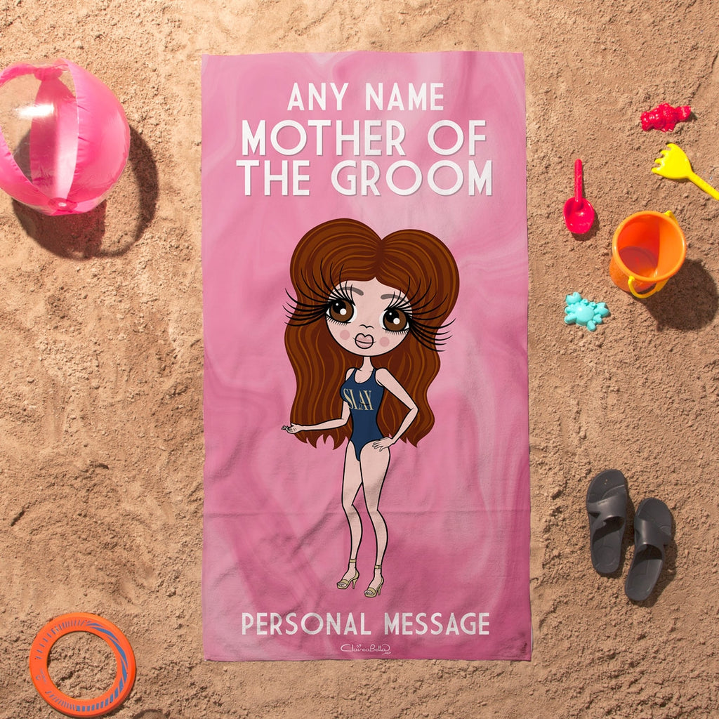 ClaireaBella Mother Of Groom Beach Towel - Image 3