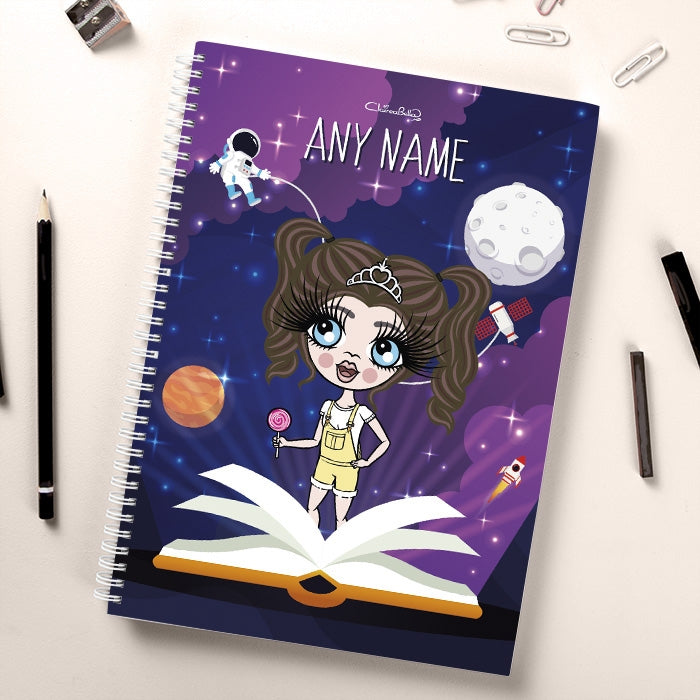 ClaireaBella Girls Book Of Galaxy Notebook - Image 1