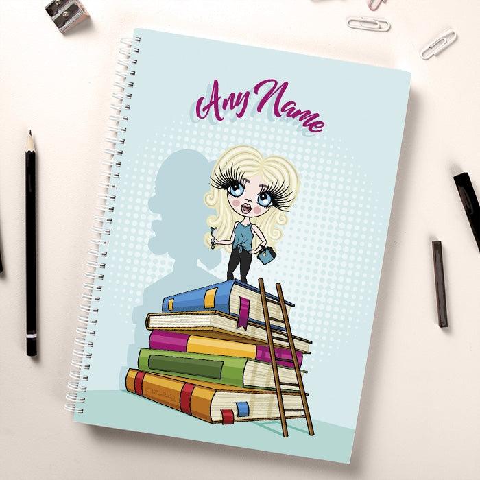ClaireaBella Girls Tower of Books Notebook - Image 2