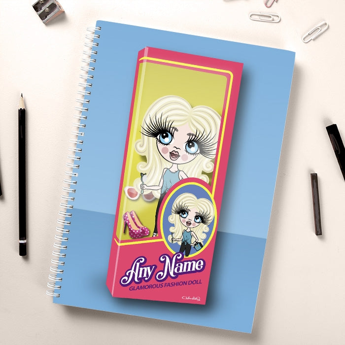 ClaireaBella Girls Glam Doll Notebook - Image 1