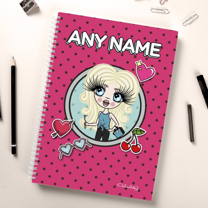 ClaireaBella Girls Dotty Notebook - Image 3