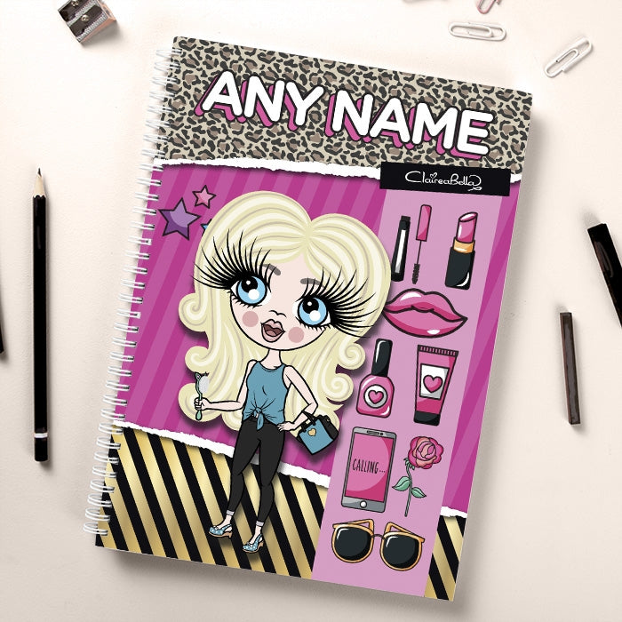 ClaireaBella Girls Fashion Notebook - Image 1