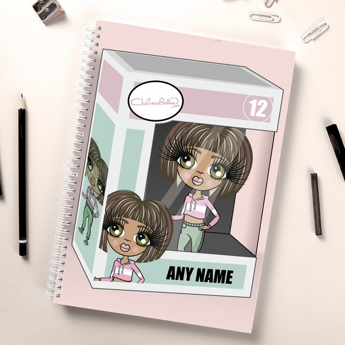 ClaireaBella Girls Funky Princess Notebook - Image 1