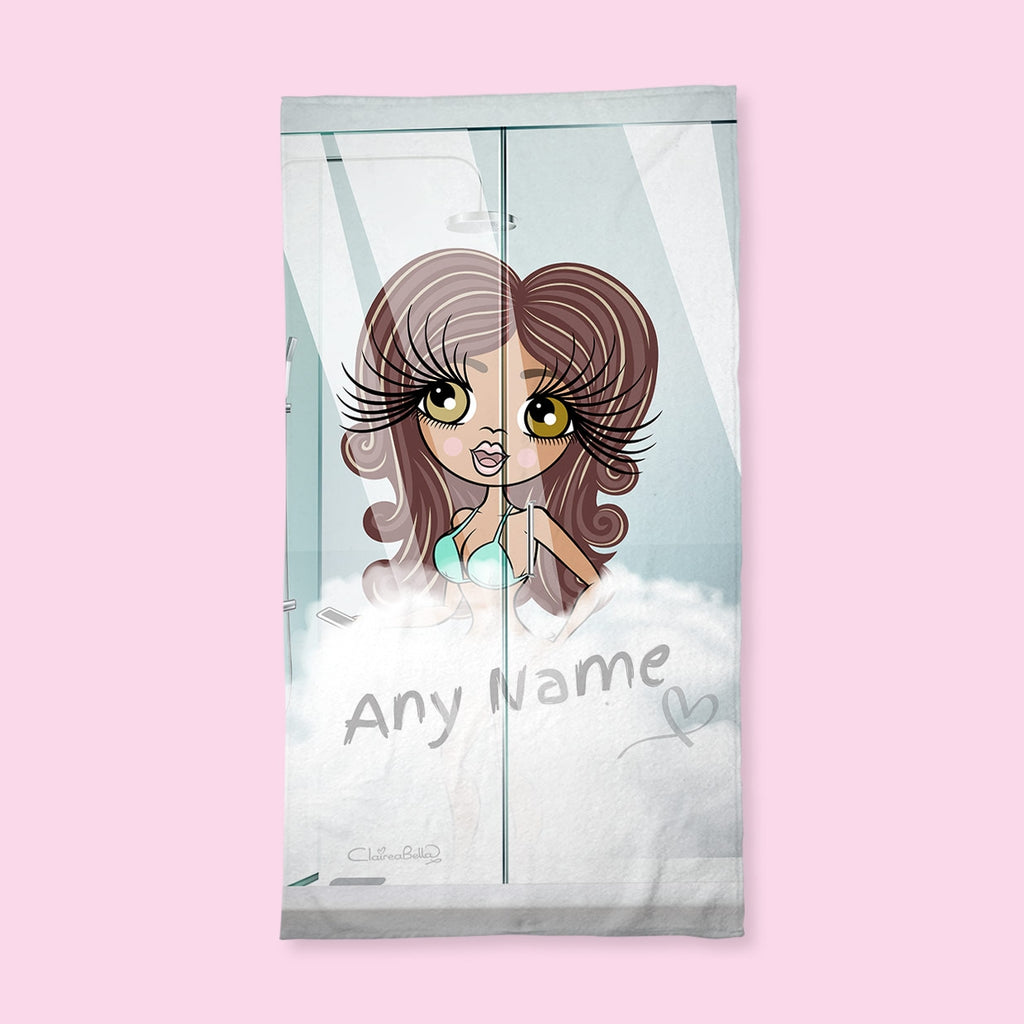 ClaireaBella Shower Steam Hand Towel - Image 1