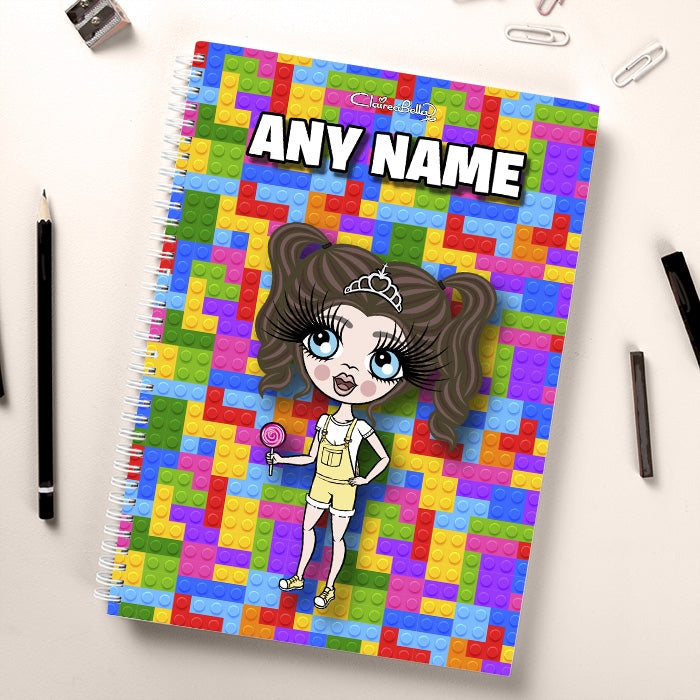 ClaireaBella Girls Colour Blocks Notebook - Image 2