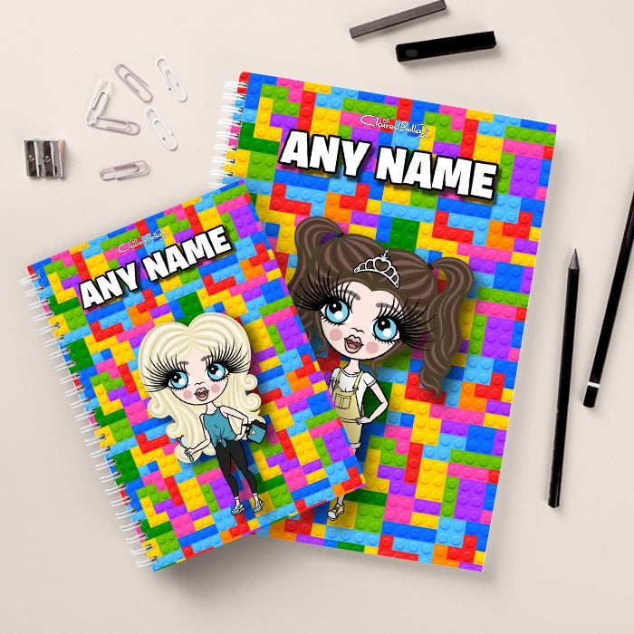 ClaireaBella Girls Colour Blocks Notebook - Image 3