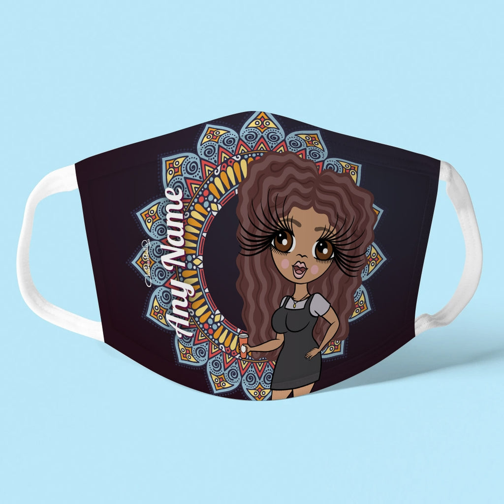 ClaireaBella Personalised Patterned Reusable Face Covering - Image 1