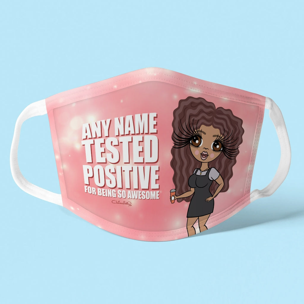 ClaireaBella Personalised Positive Reusable Face Covering - Image 1