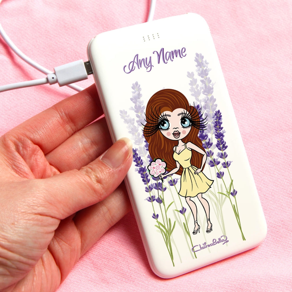 ClaireaBella Lavander Portable Power Bank - Image 1