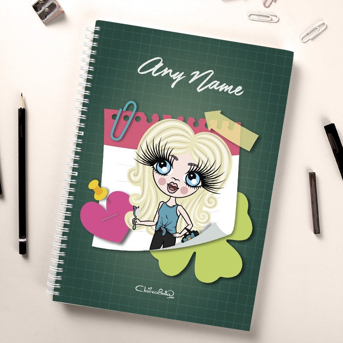 ClaireaBella Girls Sticky Notes Notebook - Image 1