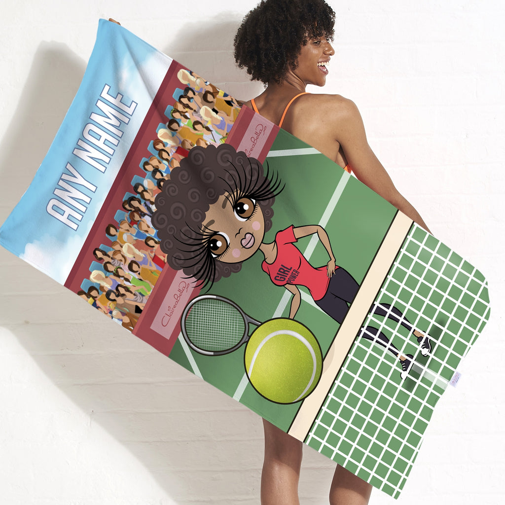 ClaireaBella Tennis Beach Towel - Image 5