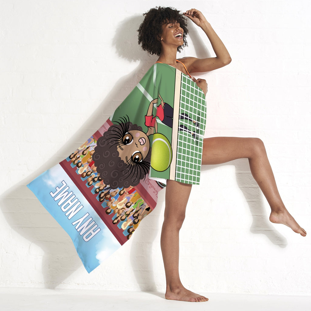 ClaireaBella Tennis Beach Towel - Image 3
