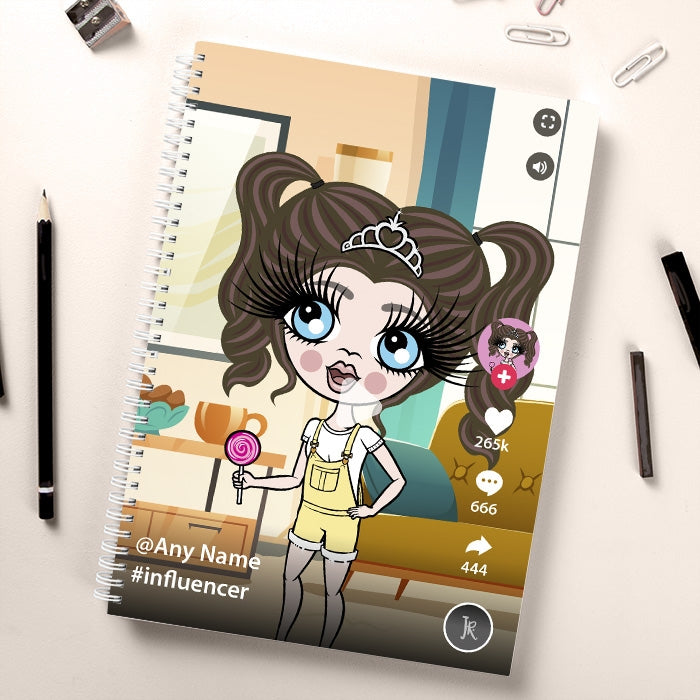 ClaireaBella Girls Influencer Notebook - Image 1