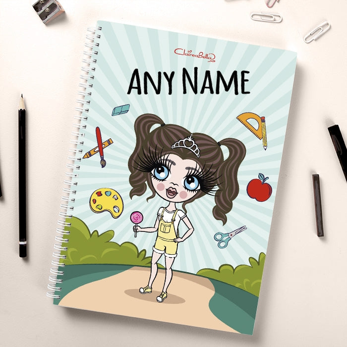 ClaireaBella Girls Path To School Notebook - Image 1