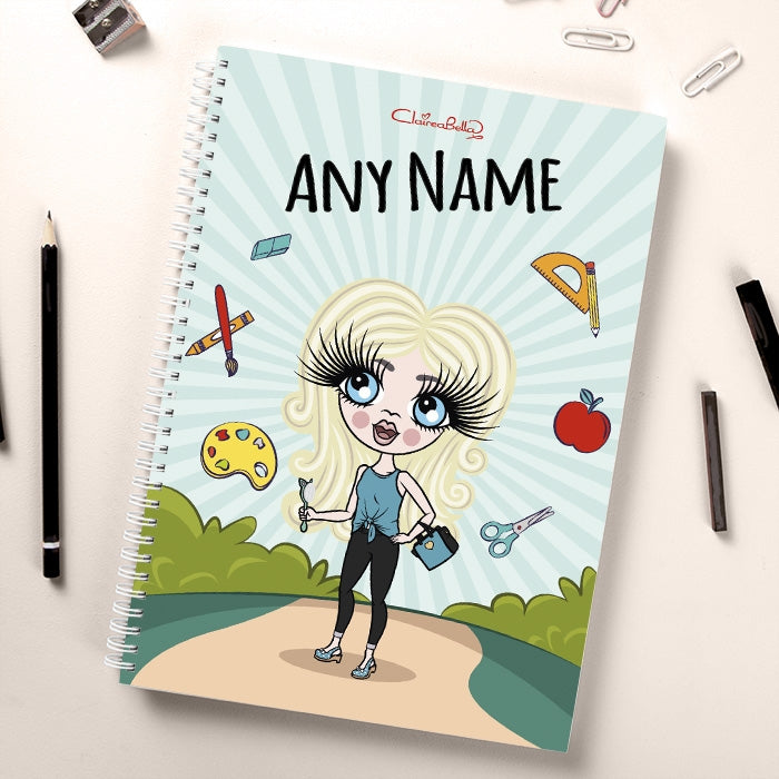 ClaireaBella Girls Path To School Notebook - Image 2