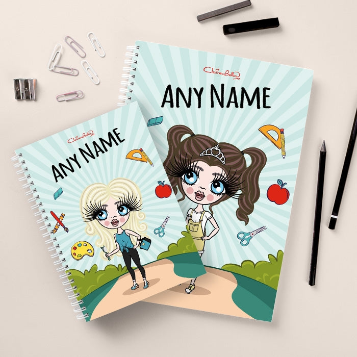 ClaireaBella Girls Path To School Notebook - Image 3