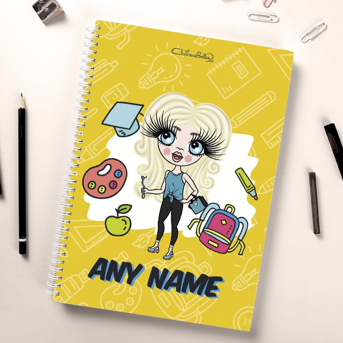 ClaireaBella Girls Essentials Yellow Notebook - Image 1